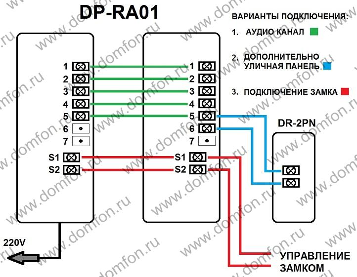 Схема подключения dp kss